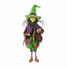 4052613 Agnes The Frog Witch  Figurine Halloween Collectible  Dept 56 Fall