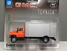 HO 1/87 Boley # 3001-96 GMC Single Axle Truck w/ Dry Van - Orange/Silver