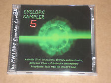 CYCLOPS SAMPLER 5 (MOSTLY AUTUMN, ROB, ANDREWS, FLAMBOROUGH HEAD) - 2 CD