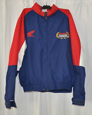 HRC HONDA RACING TEAM Vintage Red, White & Blue JACKET 1990s