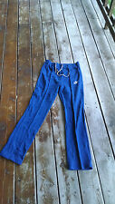 Vtg Nike swoosh 1980's blue white tag runnong workout athletic small men's pants