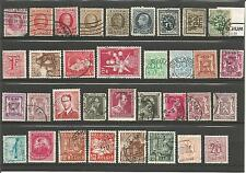 Belgium   Belgie  1915 -1929  +  1937 - 1960  Small Collection / Lot Used Stamps