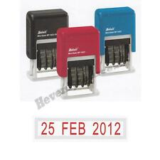 One Deskmate Self-Inking Rubber Date Stamp Choose Ink Color Free Ship & Tracking