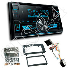 VW T5 Touareg Doppel-DIN Blende+CAN-Bus Radioadapter+Kenwood DPX5000BT Bluetooth