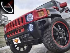 2005-2010 Hummer H3 ORACLE White LED Headlight Halo Kit