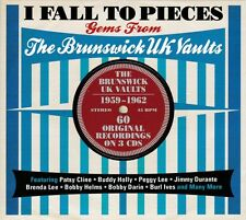 I FALL TO PIECES - GEMS FROM THE BRUNSWICK UK VAULTS 1959-1962 (NEW SEALED 3CD)