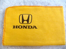 HONDA CARS:BRAND NEW LARGE HIGH QUALITY YELLOW CLEANING DUSTER WITH DECAL/LOGO