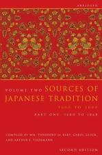 Sources of Japanese Tradition: 1600 - 2000 (Introduction to Asian Civi-ExLibrary