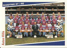 15 x ASTON VILLA SHOOTING STARS Cards by MERLIN Publishing Ltd 1991/2 FOOTBALL