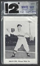 1961 CHICAGO WHITE SOX PICTURE PACK (12) CARD SET BY JAY PUBLISHING