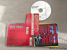 Quiet Riot - Super Hits JAPAN CD 2000 (SRCS-2368) OBI