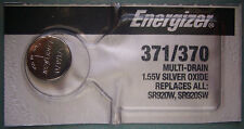 Energizer 371 370 1.55V Silver Oxide Watch Battery Fast USA Shipping