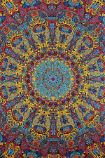3D Psychedelic Sunburst Art Wall Tapestry Free Glasses 60x90 Sunshine Joy 75191