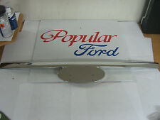 New Genuine Ford Ranger Front Grille Moulding Chrome - 1456309