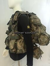 RIFLEMAN SET MOLLE II LARGE RUCKSACK, H HARNESS CHEST RIg TACTICAL ASSAULT PACK