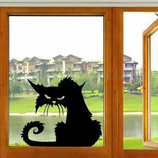 Black Cat Decal Mural Removable Art Vinyl Car Window Laptop Wall Stickers Home