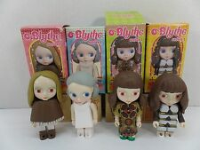 Kubrick Blythe Series 1-Holly Wood, Pow-Wow Poncho, Medieval Mood &Aztec Arrival