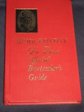 Old Mr Boston's De Luxe Bartender's Guide (Hardcover) vintage 1966