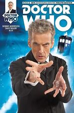 DOCTOR WHO #1 twelth 12th PETER CAPALDI photo cover variant TITAN 2014 BBC SDCC