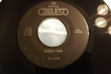 HEAR Rare Private 80's New Wave Power Pop ~ Conquest - Every Time   Lonely Once