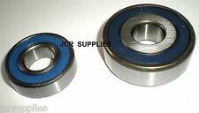 BOSCH ALTERNATOR RUBBER SHIELDED ROLLER BEARINGS  REF 6203 and 6661
