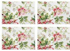 Waverly Forever Yours Set of 4 Placemats New with tags Pretty Place Settings