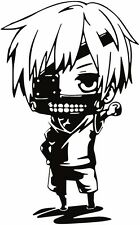 Tokyo Ghoul -- Kaneki Chibi Anime Decal Sticker for Car/Truck/Laptop