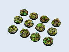 Micro Art Studio BNIB - Jungle Bases, Round 25mm (5)