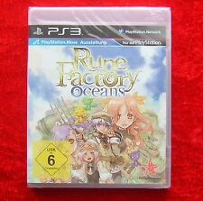 Rune Factory Oceans, PS3, PlayStation 3 Spiel, Neu, deutsche Version