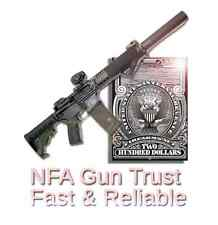 NFA Gun Trust - 41P Compliant - Same Day Delivery