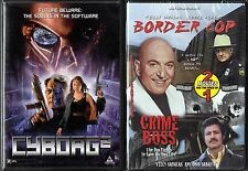 Cyborg 2 (DVD) & Border Cop; Crime Boss (DVD); 3 Movies on 2 DVDs