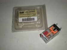 DAYTON IEHJ2 10A 24VAC LED BUTTON RELAY NEW