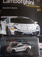 Lamborghini Gallardo LP 560 GT3 (2012) Auto Plus N° 57  1/43 Fascicule