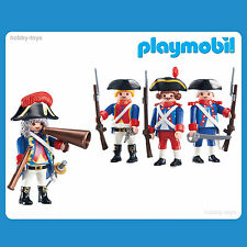 * Playmobil * French General & Soldiers * New Sealed in Packet *