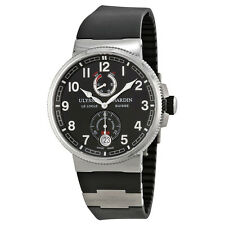 Ulysse Nardin Marine Black Dial Automatic Mens Watch 1183-126-3-62