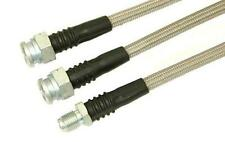 """Toyota Brake Line Kit (2 front 1 rear) 26"""" long DOT Approved 4X4 OFF ROAD SUZUKI"""