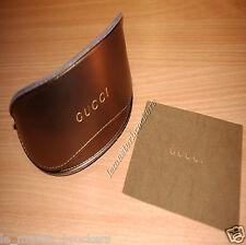 GUCCI Etui souple + Mini lingette 12.7x10 cm  pour  Monture optique lunettes