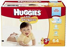 Huggies Little Snugglers Diapers - Size 3 - 64 ct