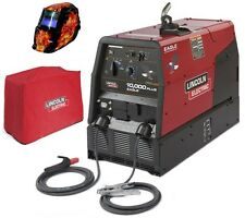 Lincoln K2343-3HC Eagle 10,000 Plus , Welder & Generator with ADF Helmet & Cover
