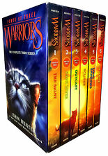 Power of Three Collection Erin Hunter 6 Books Box Set Warrior Cats Series 3