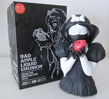 "BAD APPLE LIQUID EROSION 8"" RESIN SCULPTURE. EDITION OF 150. GOIN. MIGHTY JAXX."