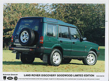 Land Rover Discovery Goodwood Limited Edition Press Photograph - 1996