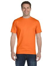 Hanes Mens Beefy T shirt Cotton Tagless Tee brand new Tee S-3XL 5180
