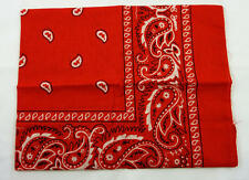 ROSSO Cowboy Bandana Biker Sciarpa Collo TIE FANCY DRESS