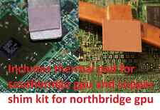 Dell  M5010 Motherboard GPU Copper Shim Thermal Pad - - Prevent 7 Beep Overheat