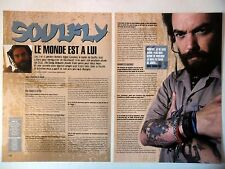 COUPURE DE PRESSE-CLIPPING :  SOULFLY [4pages] 02/2005 Max Cavalera,The Song Rem