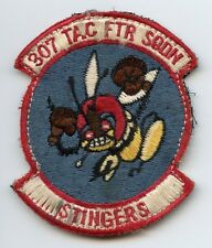 Vietnam Era Japanese-Made US Air Force 307th Tactical Fighter Squadron Patch