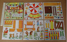 Classic Vintage Cut-Out Model Book. Fairground  Funfair -  Elves & Fairies
