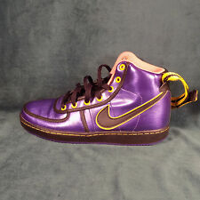WOMENS NIKE AIR PURPLE -tour yellow-bright SIZE 8.5 Vandal High Prem 341538-401