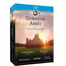 Downton Abbey: Complete Series Collection Seasons 1 2 3 4 5 6 Boxed BluRay Set